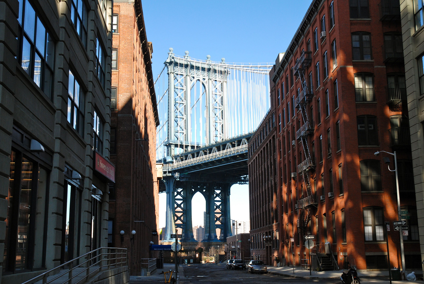 NYC Manhattan Bridge from Brooklyn