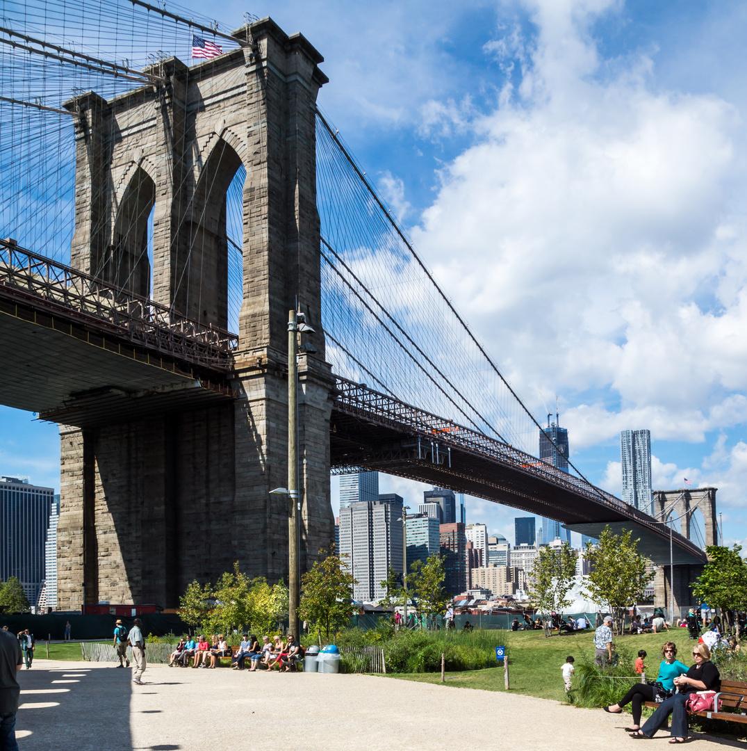 NYC mit Brooklyne Bridge