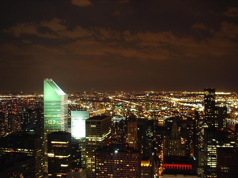 NYC Nachtgrün