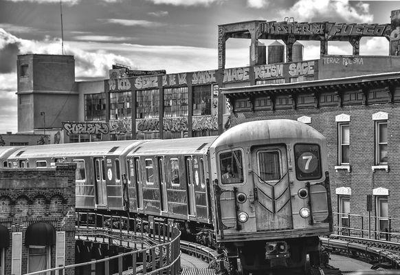 NYC schwarzweiss 1009