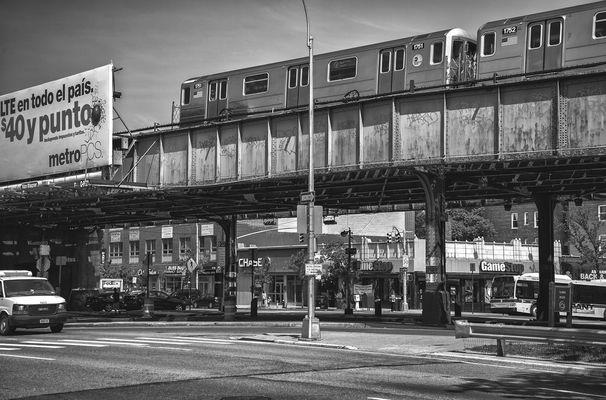 NYC schwarzweiss 921