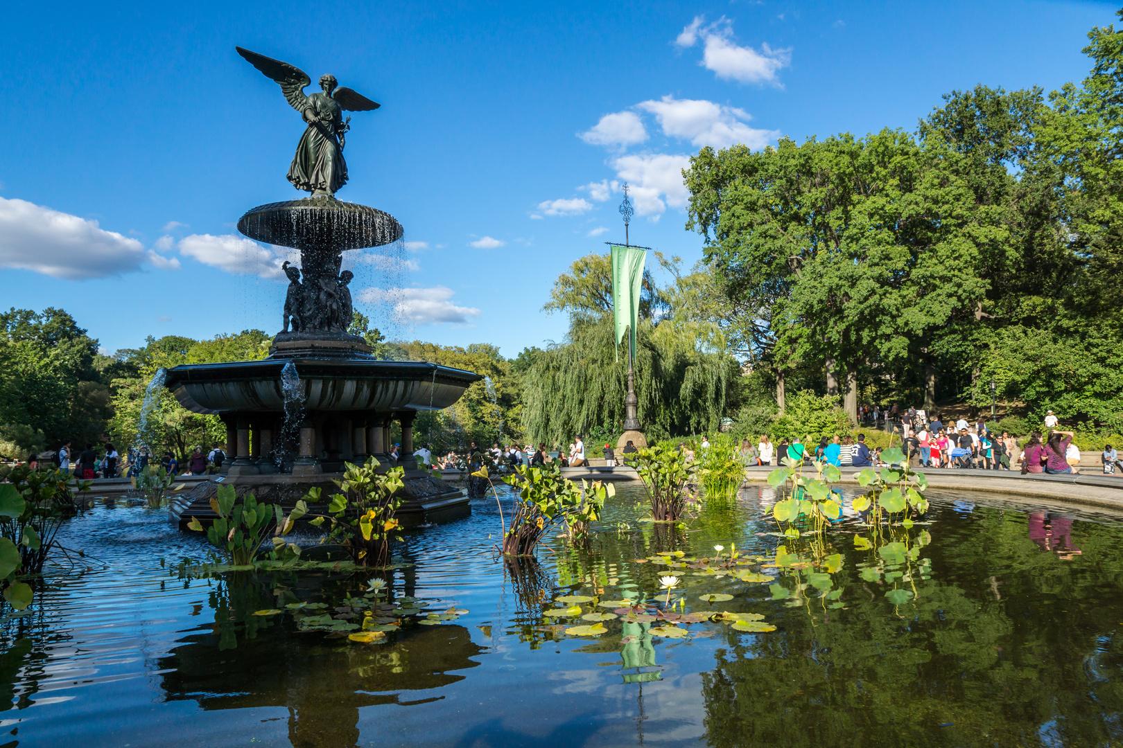 NYC Springbrunnen im Central Park