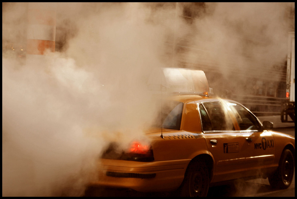 NYC Taxi in the Dust