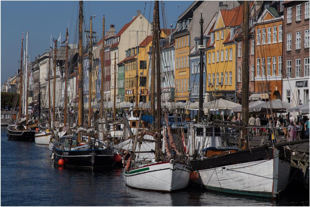 Nyhavn, TerraPixx auf Ostsee-Törn