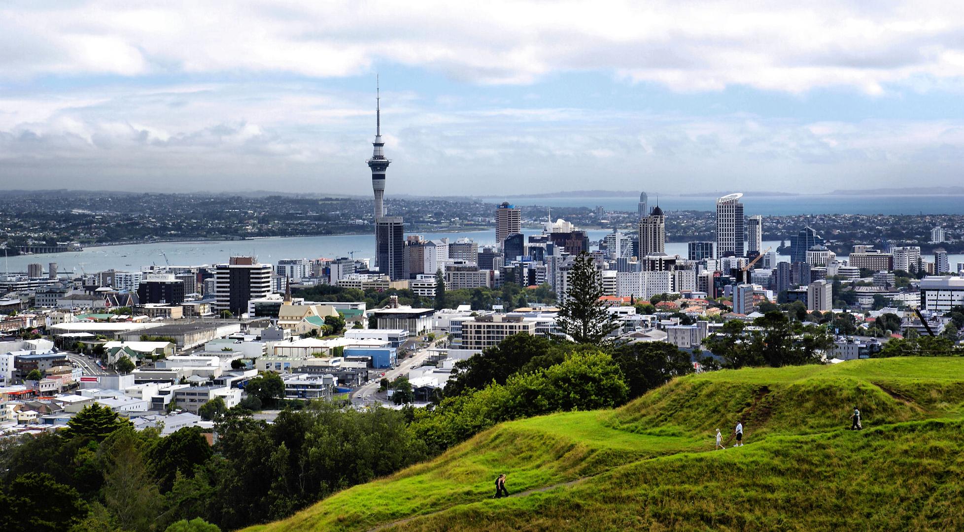 NZ Auckland vom Mount Eden...