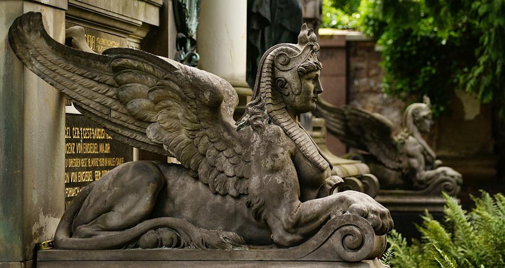 O schöne Sphinx!