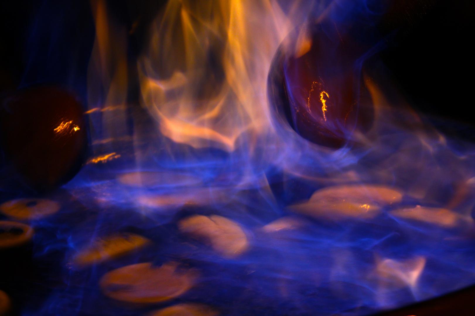 O son do lume.... El sonido del fuego