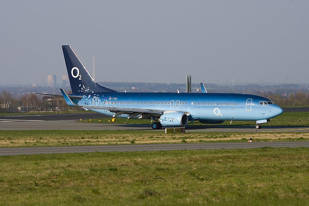 O2 Boeing 737
