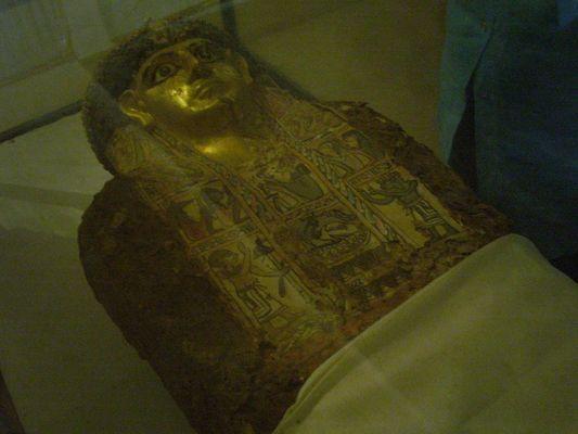 Oase Bahariya-goldene Mumie