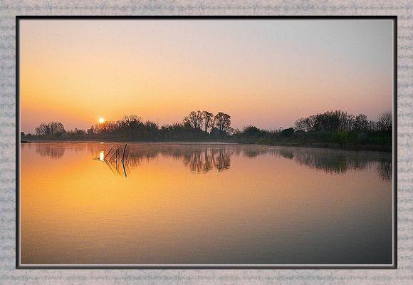 oasi all'alba