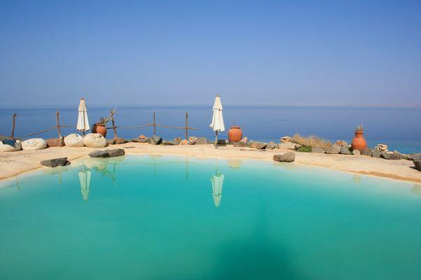 Oasis de paz al borde del mar rojo, Egipto