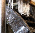Oazapft is - 3 - Eselmühlrad im Eisschmuck