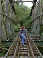 Ob da nochmal ein Zug kommt ?