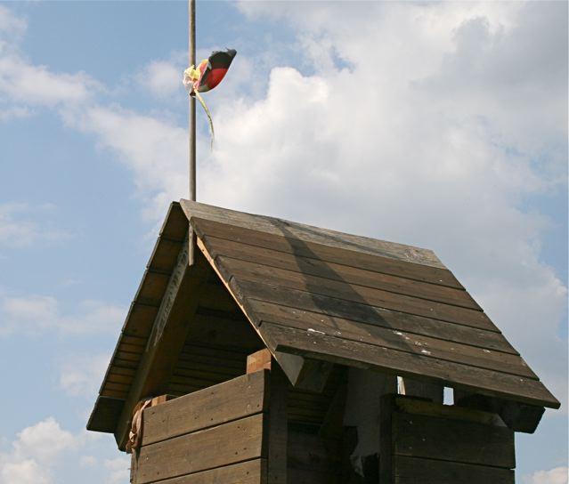Ob diese Fahne die EM noch übersteht?