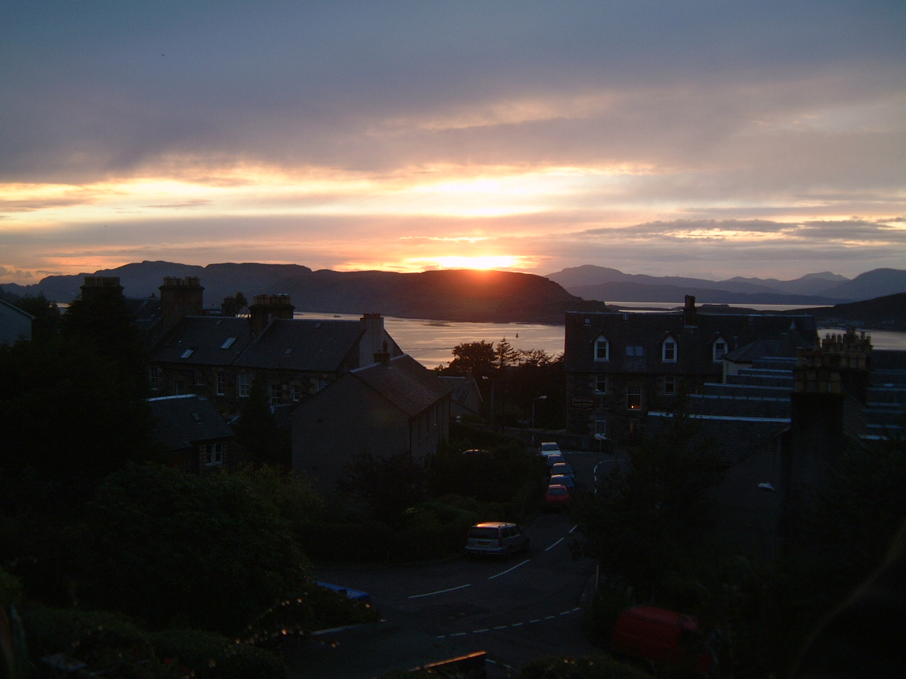 Oban at Sunset