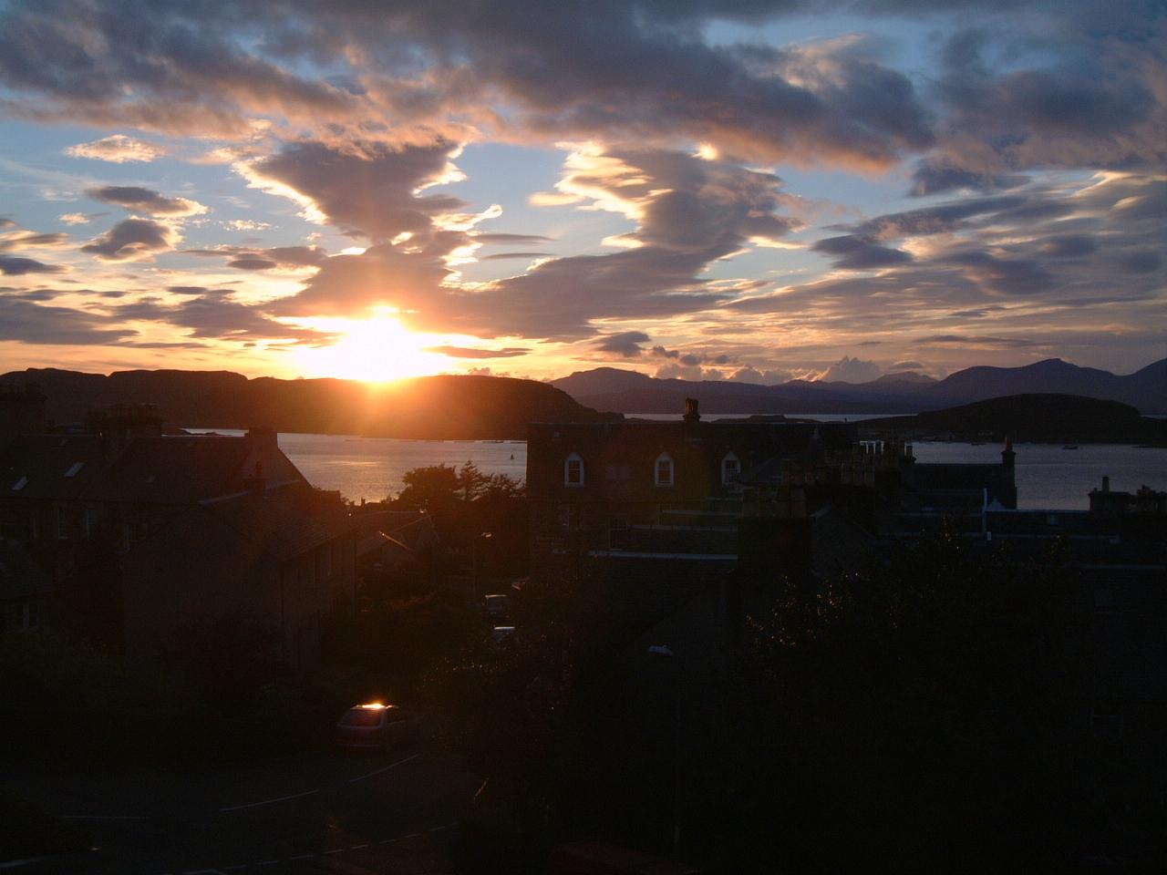 Oban Sunset