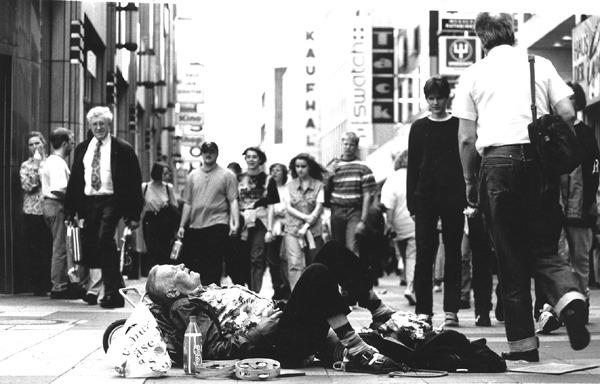 Obdachlosigkeit Köln