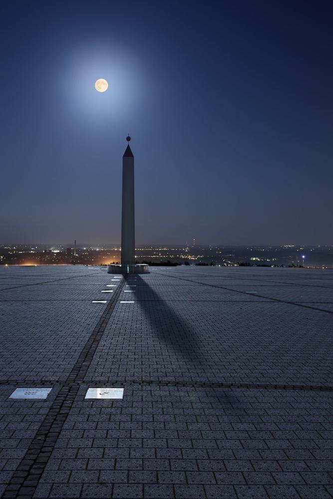 Obelisk – Monduhr - Halde Hoheward III