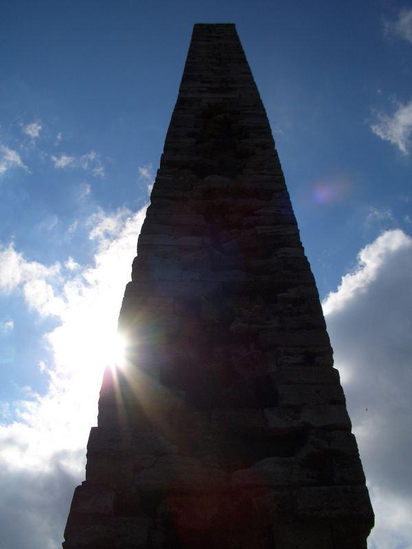 Obelisk vor der Blauen Moschee