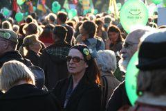 Oben Bleiben im Gegenlicht Stuttgart Park Okt