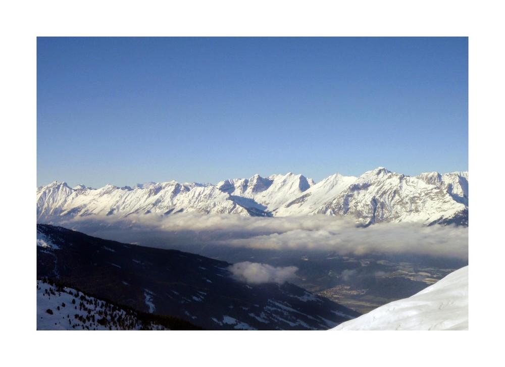 oben die Gipfel und ´drunten das Tal