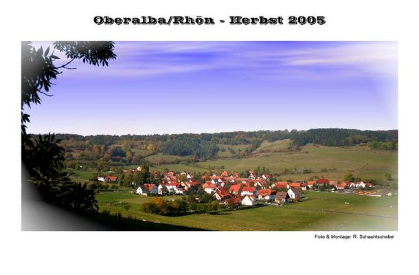 Oberalba/Rhön - Herbst 2005