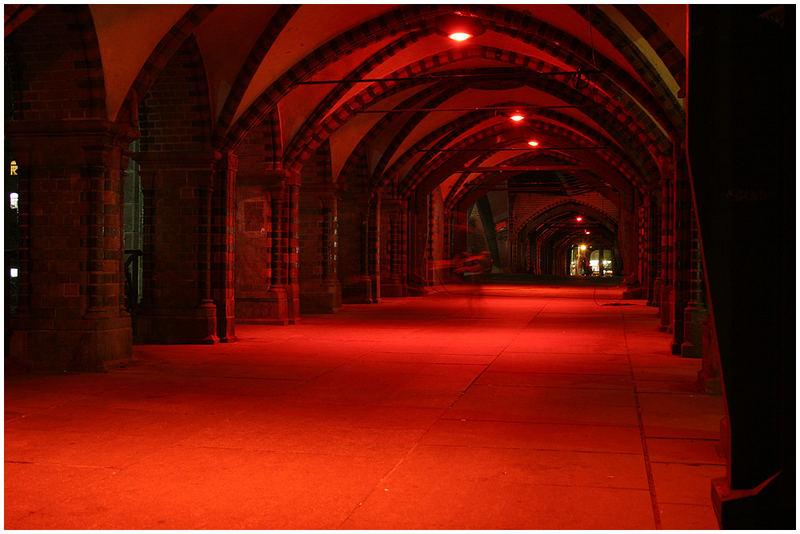 Oberbaumbrücke beim Festival of Lights