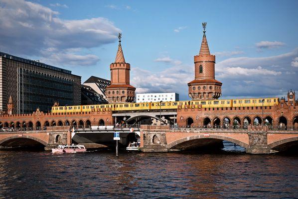 Oberbaumbrücke Juni 2013