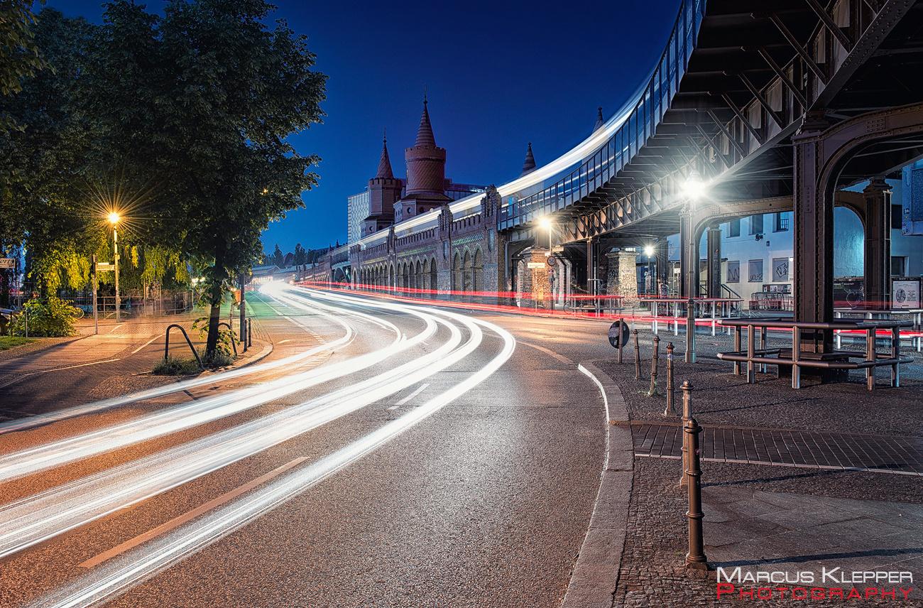 Oberbaumbrücke Lightstreams