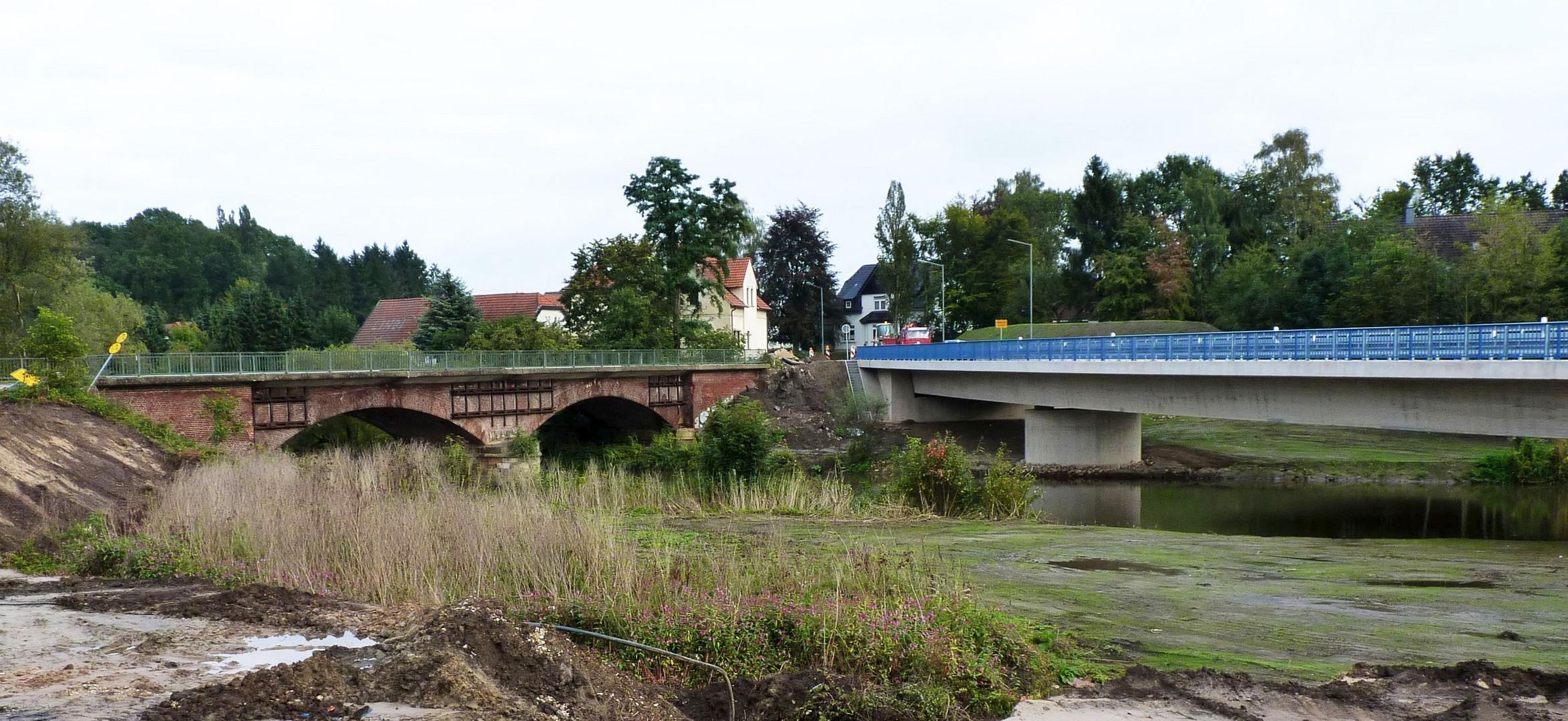 Oberbehmer Brücke alt+neu