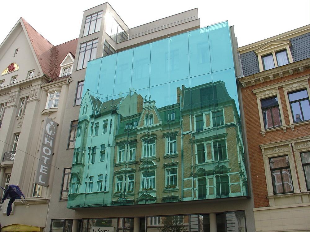 obere Leipziger Straße in Halle