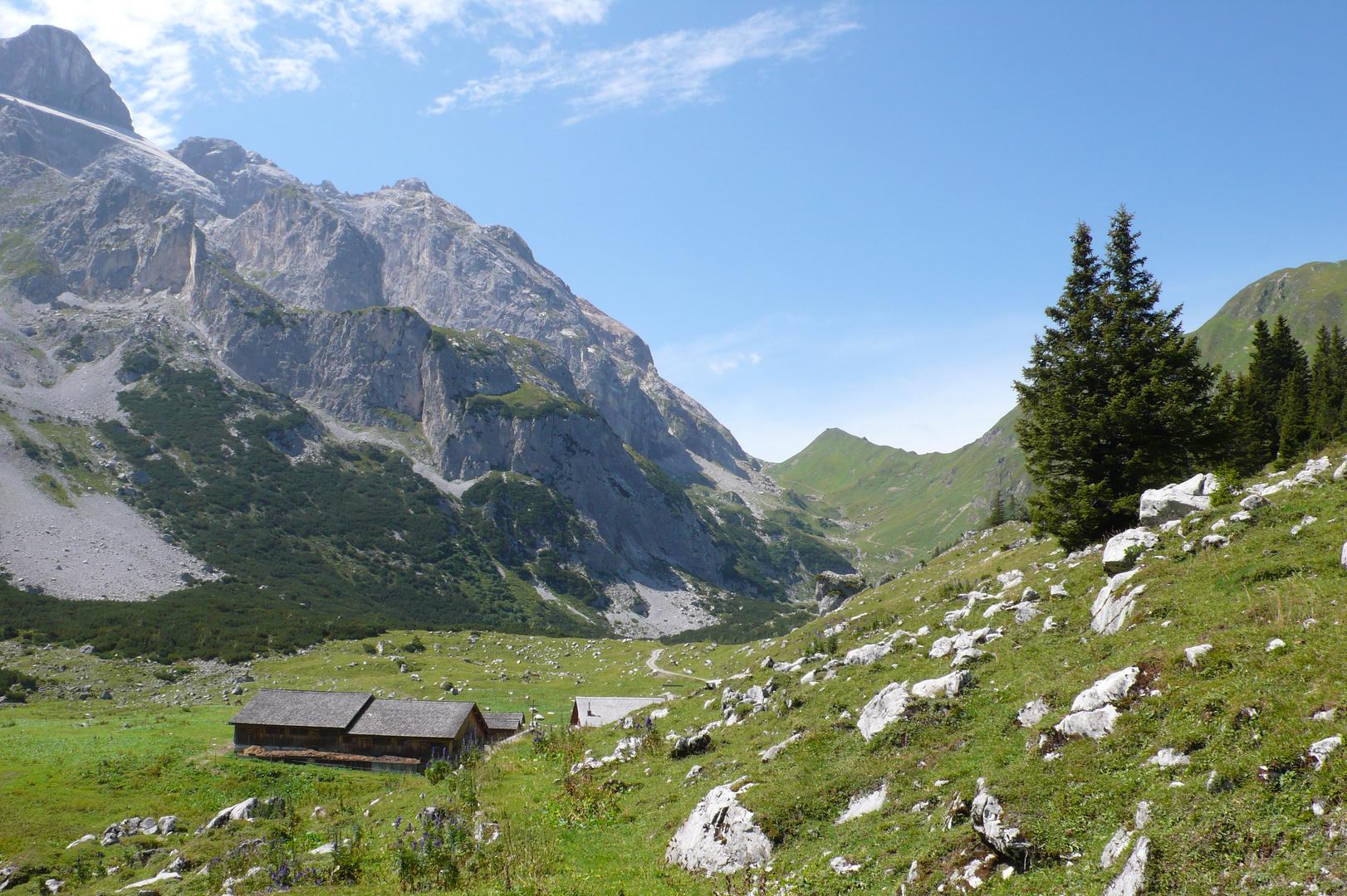 Obere Spora Alpe