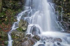 Obere Stufe des Zweribach-Wasserfalls, Detail