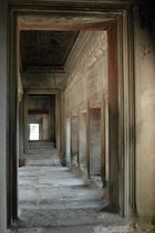 Obere Terrasse im Angkor Wat