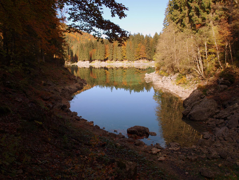 Oberer Weissenfelsersee/Lago de Fusine superiore