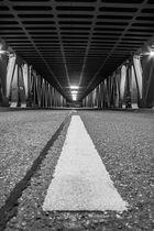 Oberhafenbrücke Hamburg bei Nacht