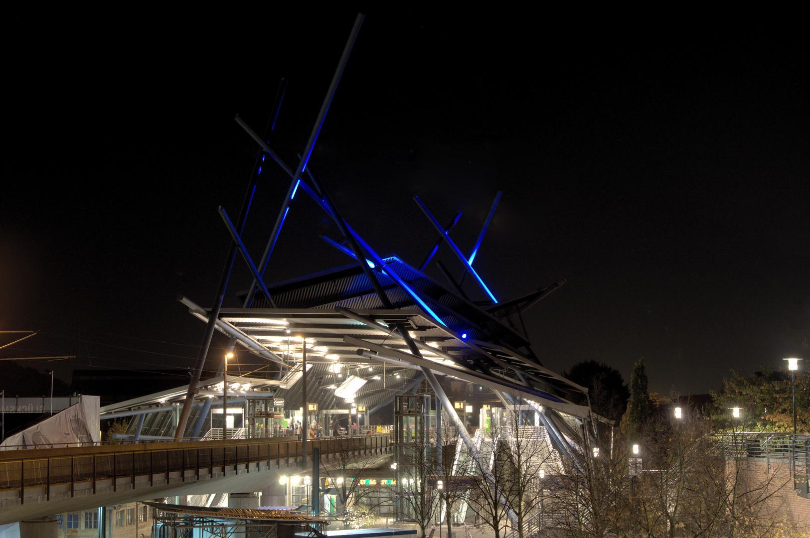 Oberhausen bei Nacht 2