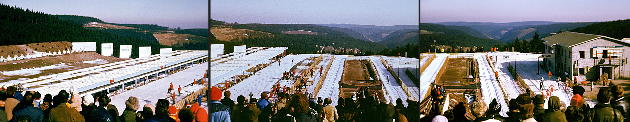 Oberhof 1983: Biathlon-Staffel