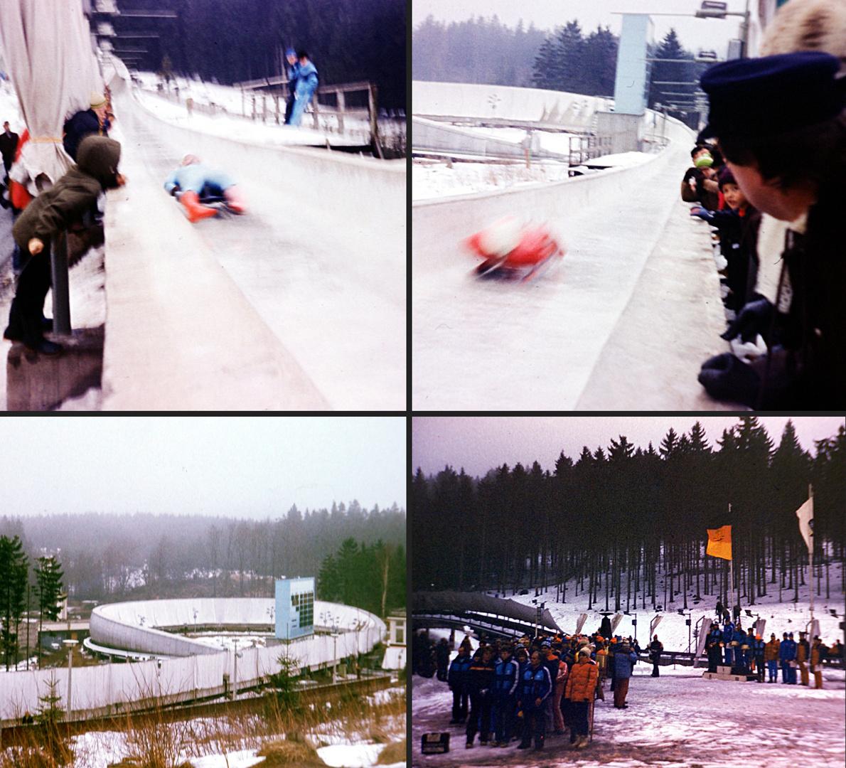 Oberhof 1983: Rodel-Weltcup und -Spartakiade