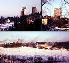 Oberhof 1983: Skyline mit Rauchschwaden