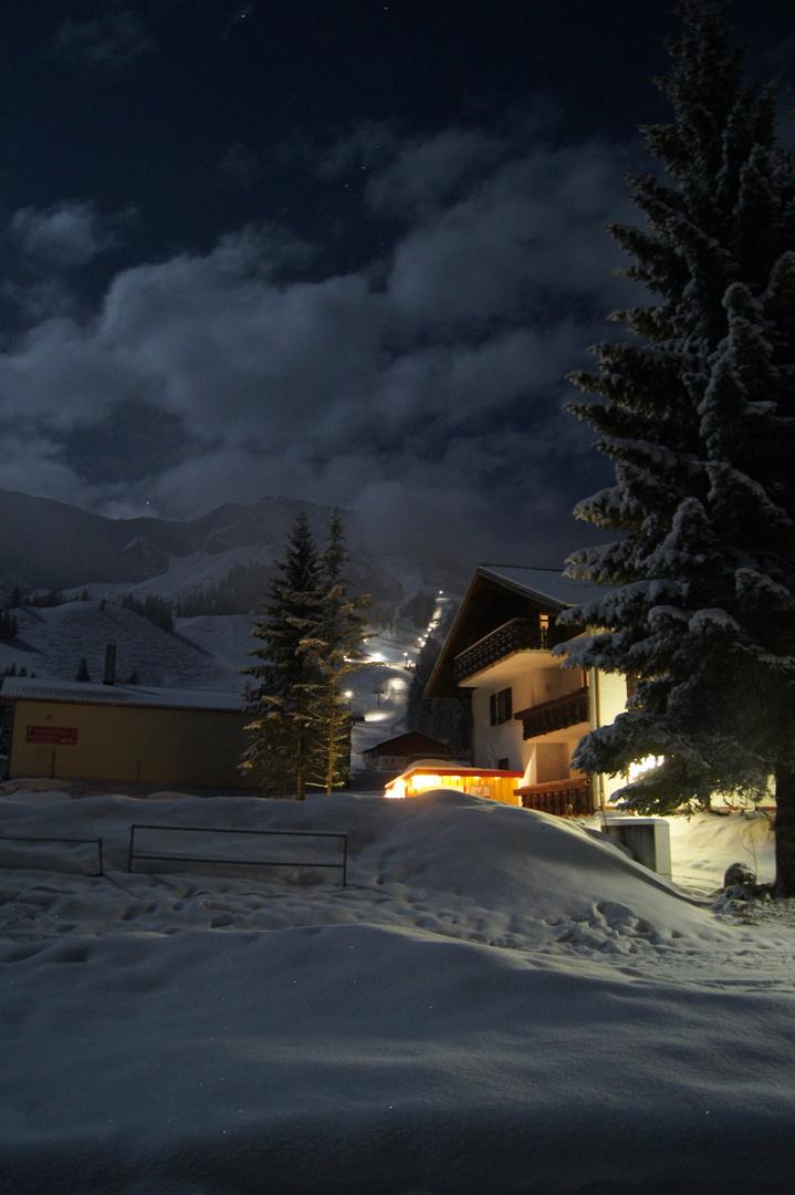 Oberjoch bei Nacht 2011