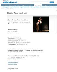 Oberösterreichische Nachrichten April-Mai 2011