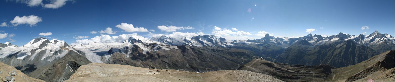 Oberrothorn - the 4000 Swiss Alps