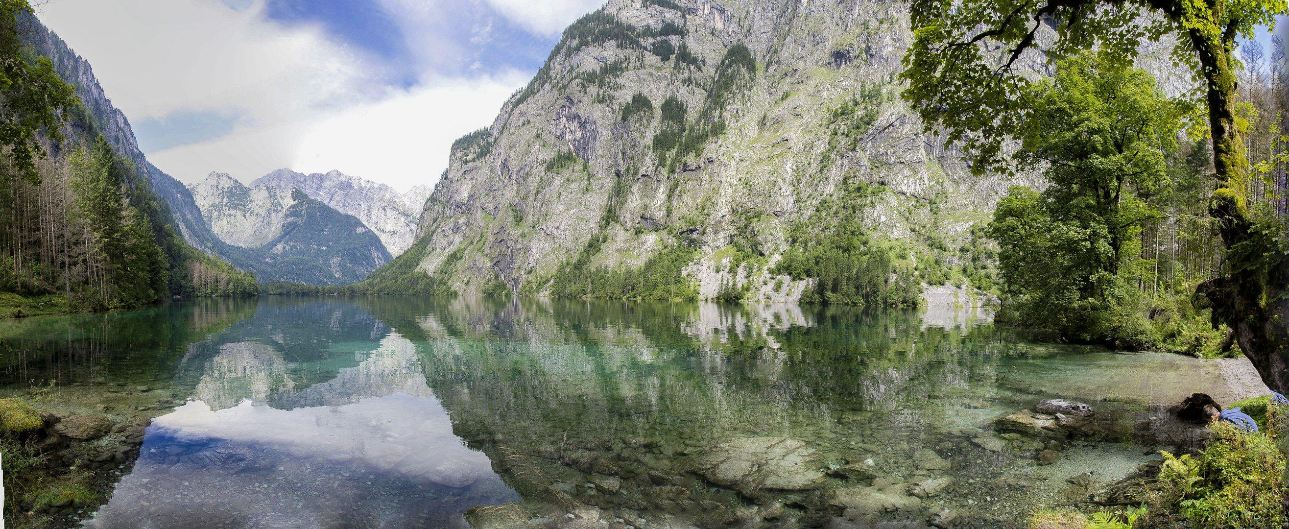 Obersee Berchtesgaden Panorama