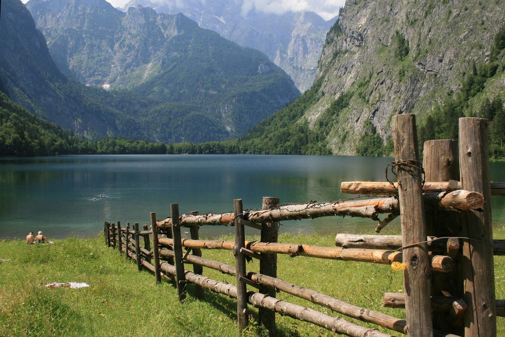 Obersee in Berchtesgarden