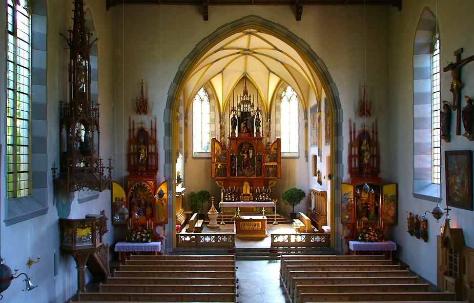 Oberstdorfer Kirche