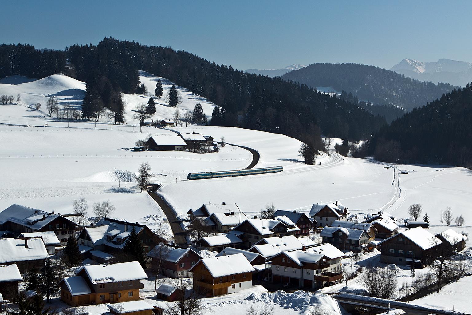Oberthalhofen im Winter
