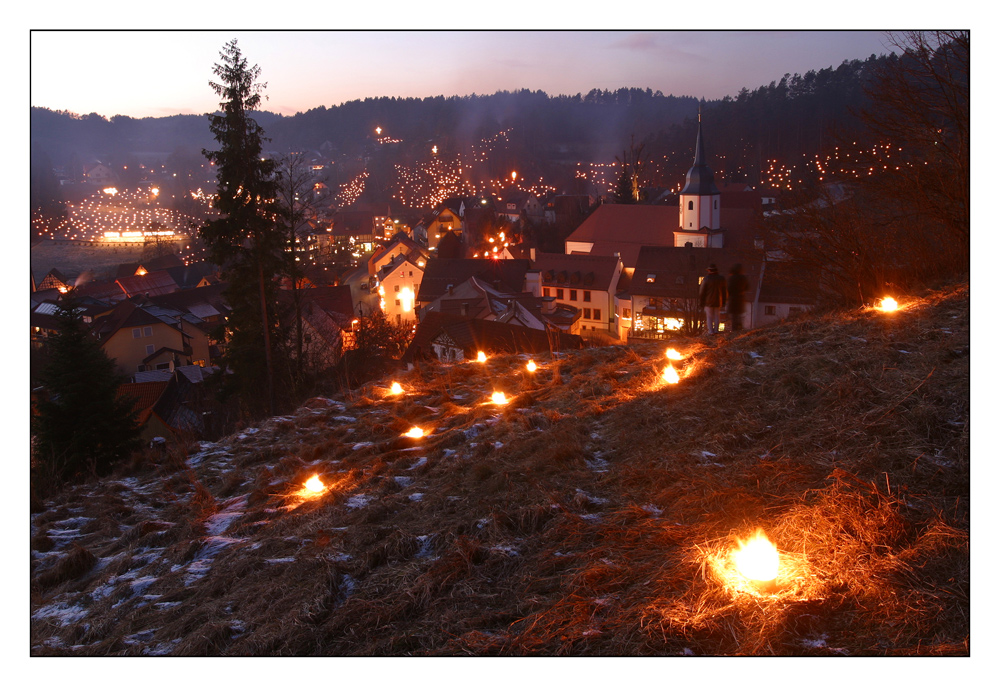 Obertrubacher Lichterfest