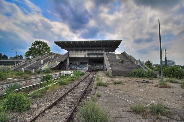 Oberwiesenfeld S-Bahnhof
