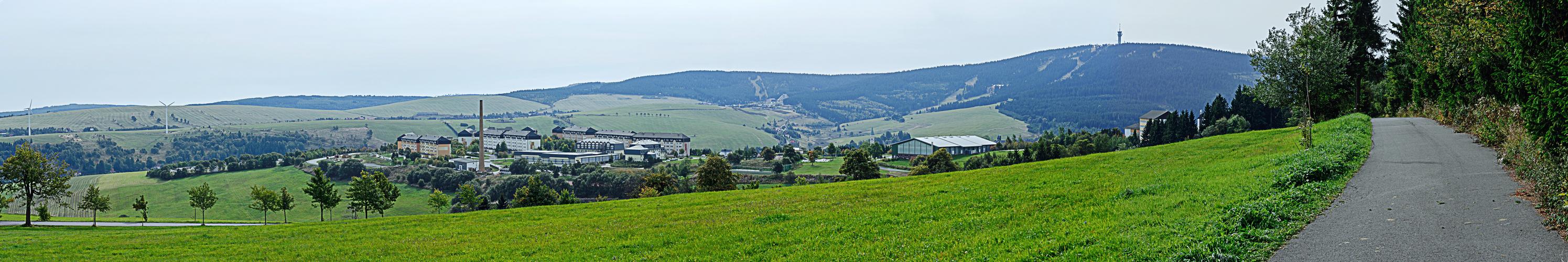 Oberwiesenthal mit Keilberg